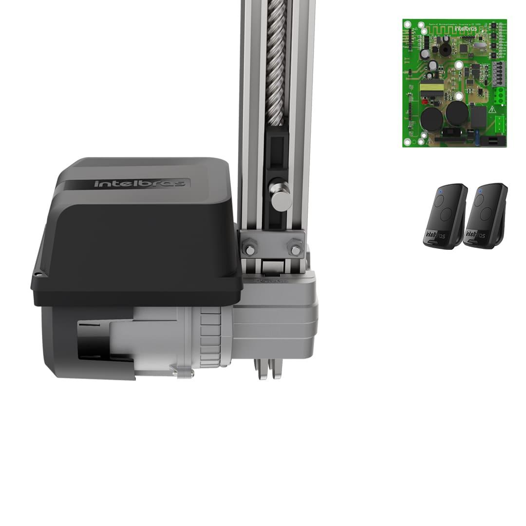 Kit Motor de Portão Eletrônico Basculante Intelbras BC 500 Fast 1/2 Hp