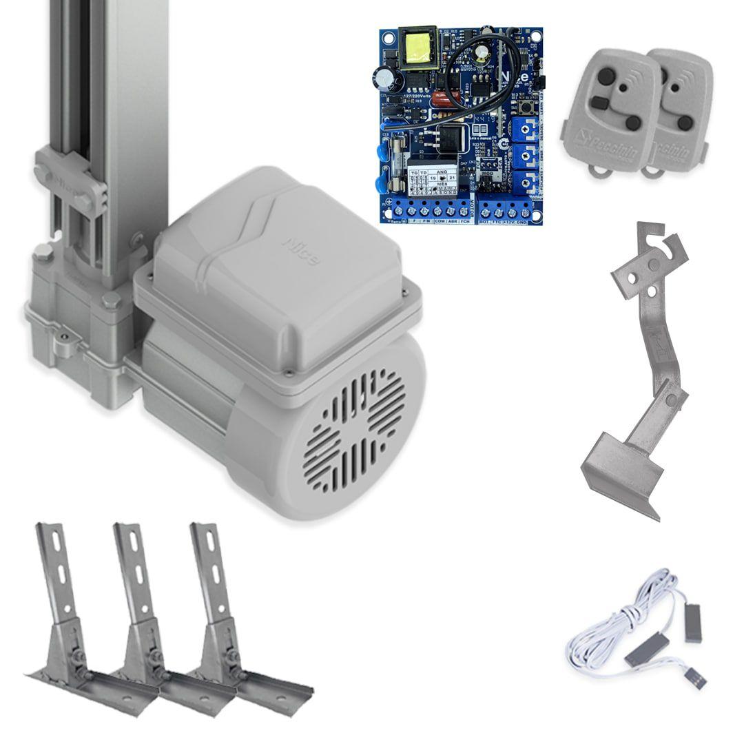 Kit Portão Eletrônico Basculante Peccinin Fast Gatter + Suporte