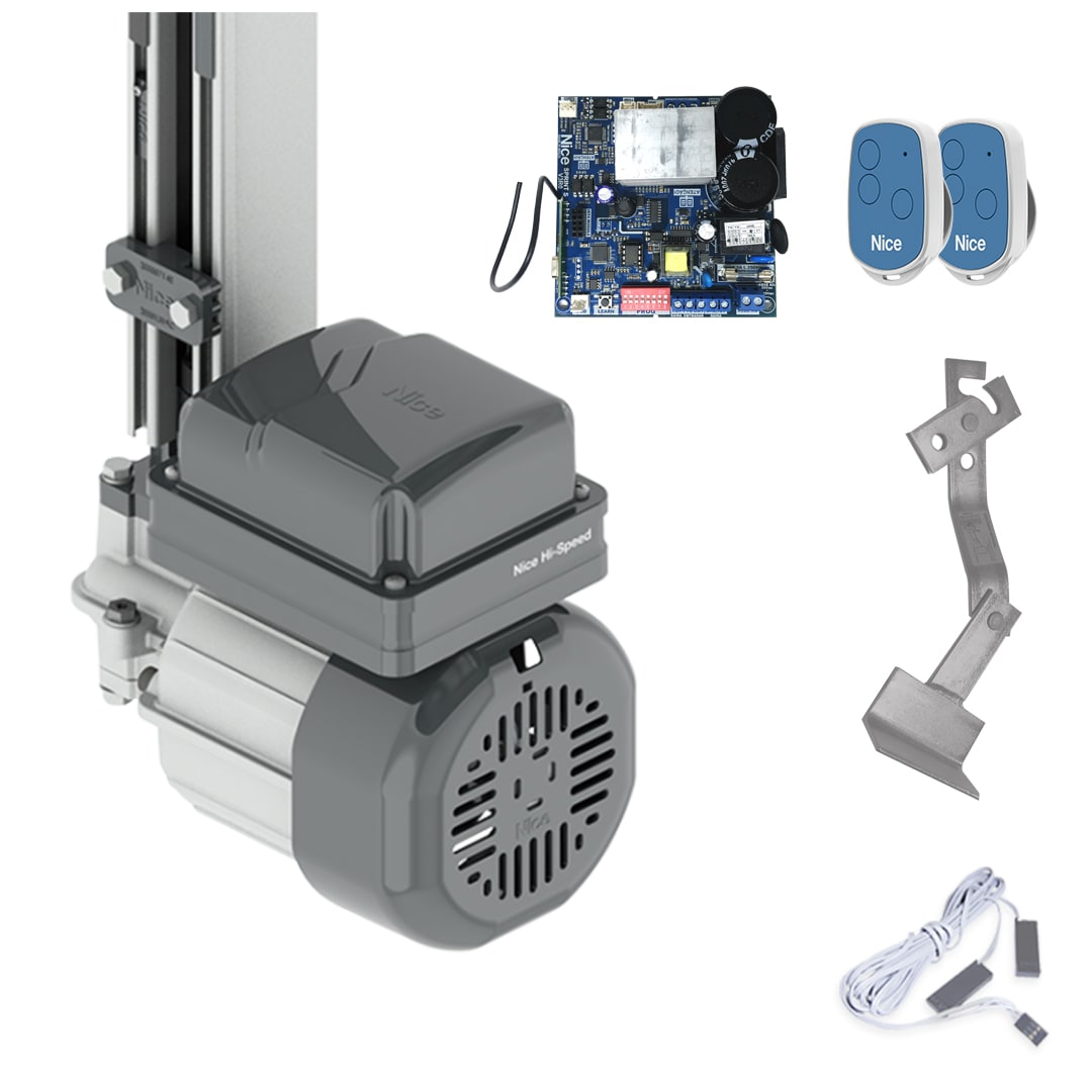 Kit Motor de Portão Eletrônico Basculante Peccinin Gatter i-HS Rápido