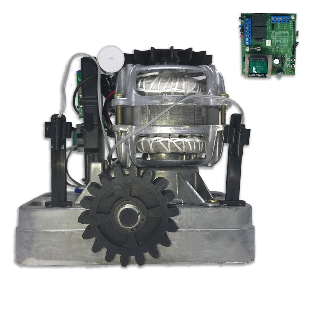 Kit Motor de Portão RCG Slider AL Fast 1/4 HP