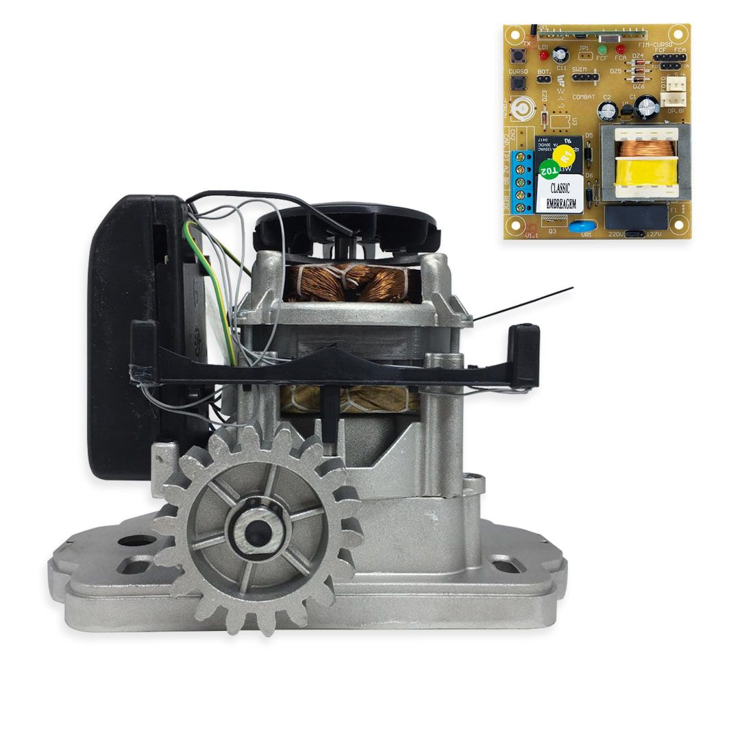 Kit Portão Eletrônico Deslizante Garen Kdz Fit 1/4 HP