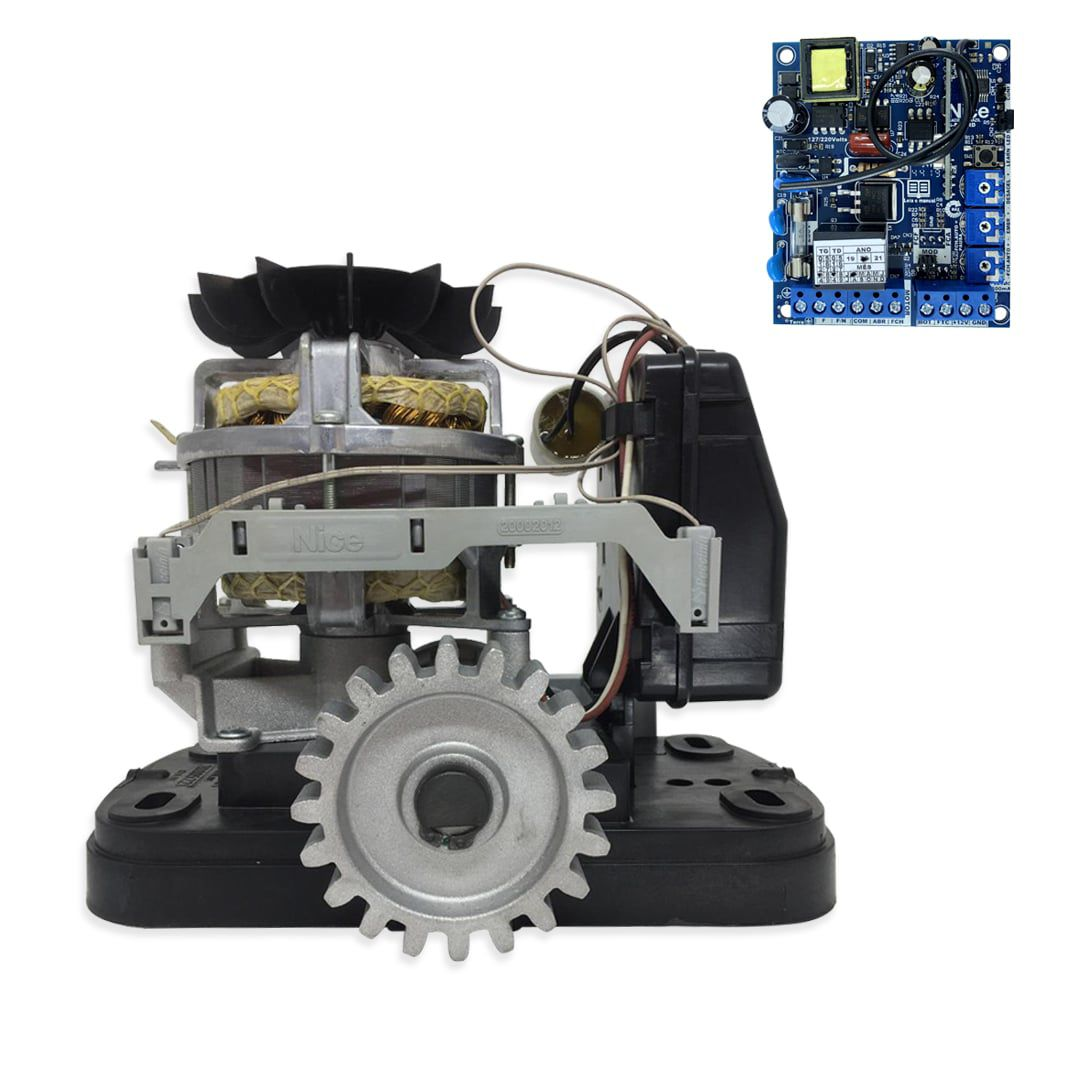 Portão Eletrônico Deslizante Peccinin Fast Gatter Kit Completo