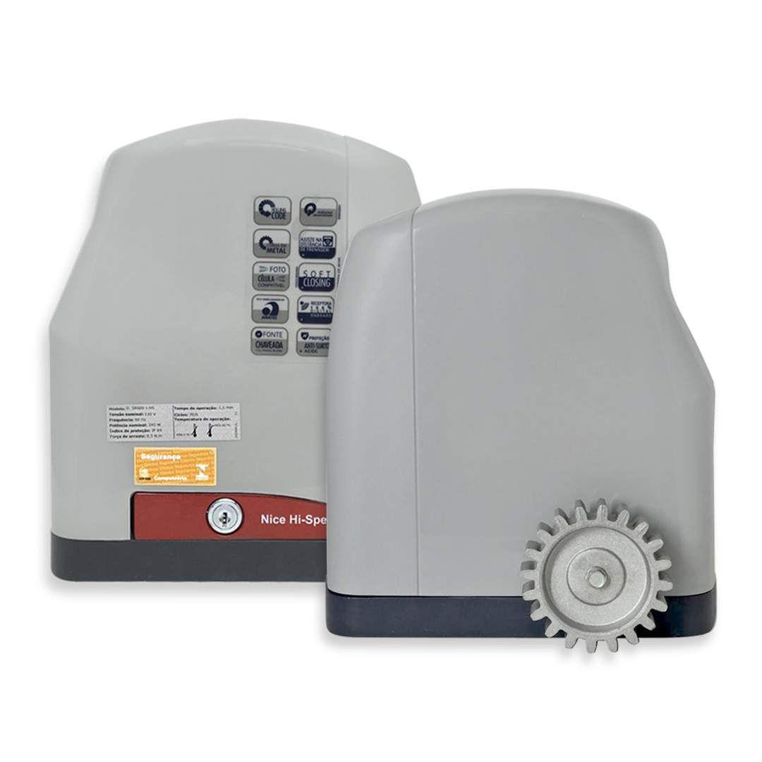 Portão Eletrônico Deslizante Peccinin SR600 i-HS 1/2HP Kit Completo