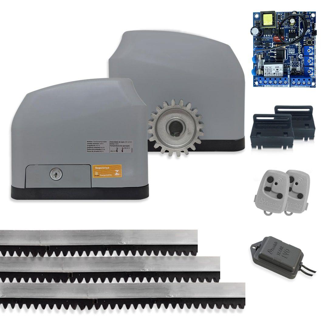 Portão Eletrônico Motor Peccinin Fast Gatter Kit + Tx Car