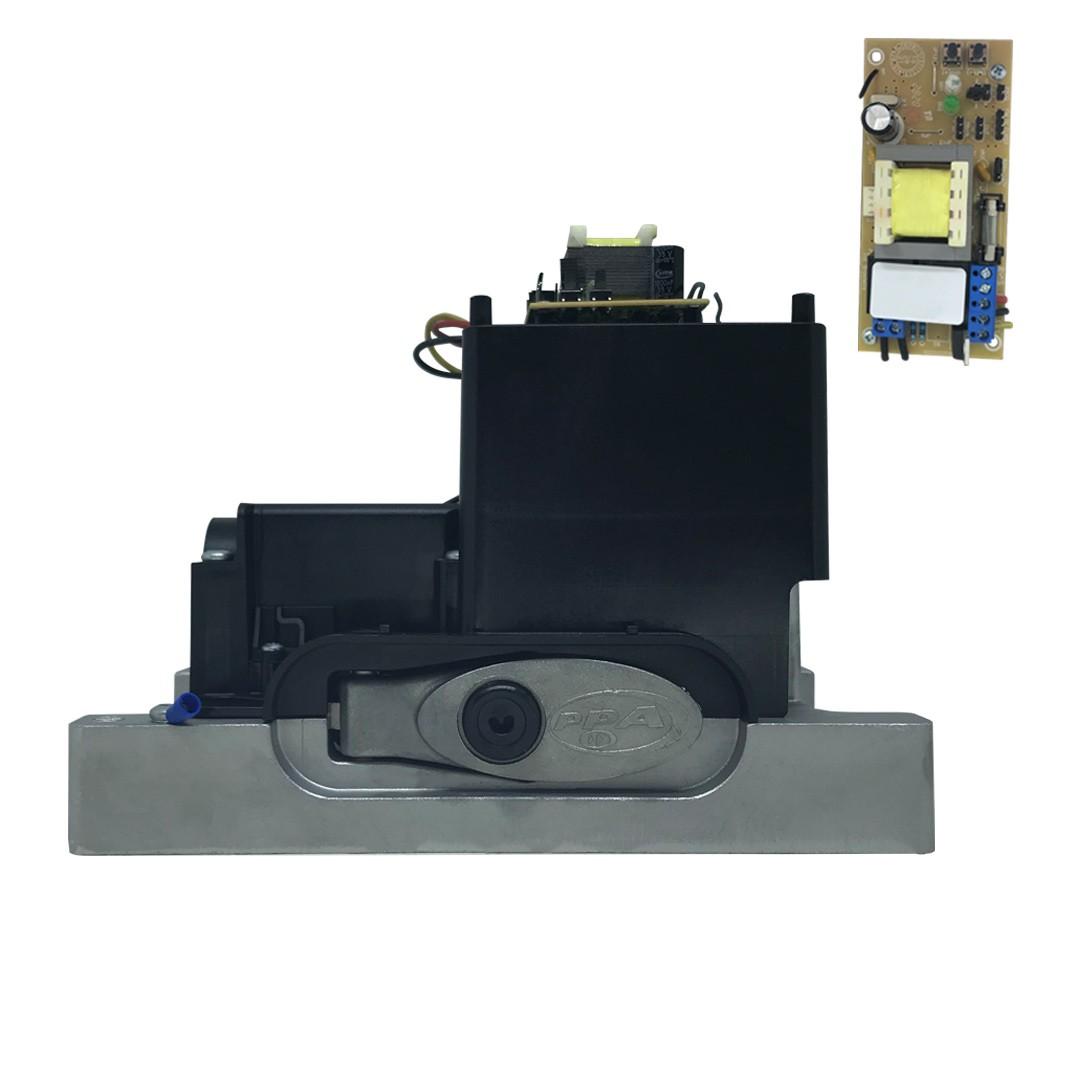Kit Motor de Portão Eletrônico PPA DZ Hub 450 KL 1/4 HP