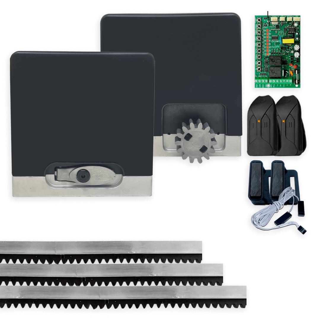 Kit Motor de Portão Eletrônico PPA DZ Hub 450 KL Wi-Fi