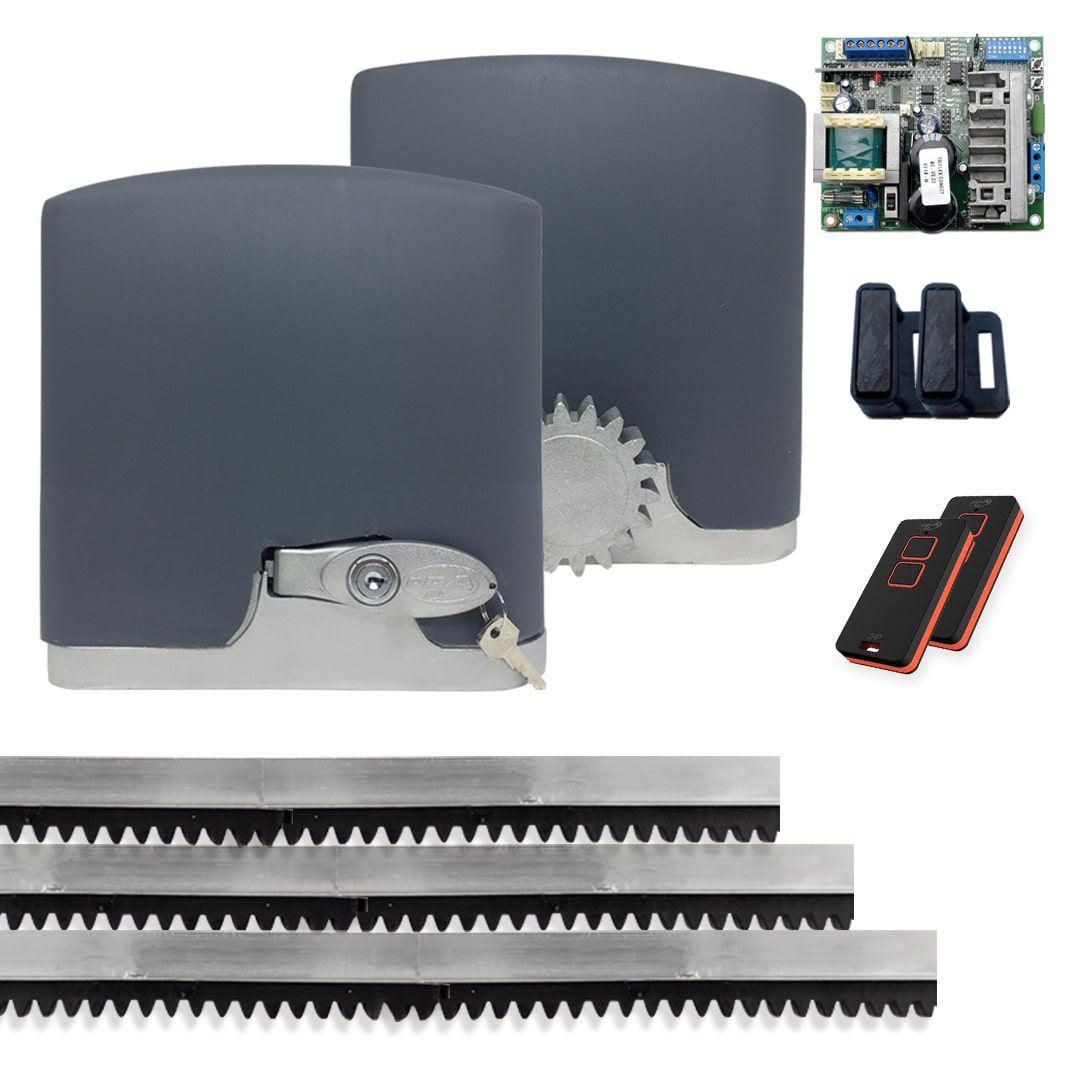 Kit Motor de Portão Eletrônico PPA Dz Rio R 500 1/4 Jet Flex Connect