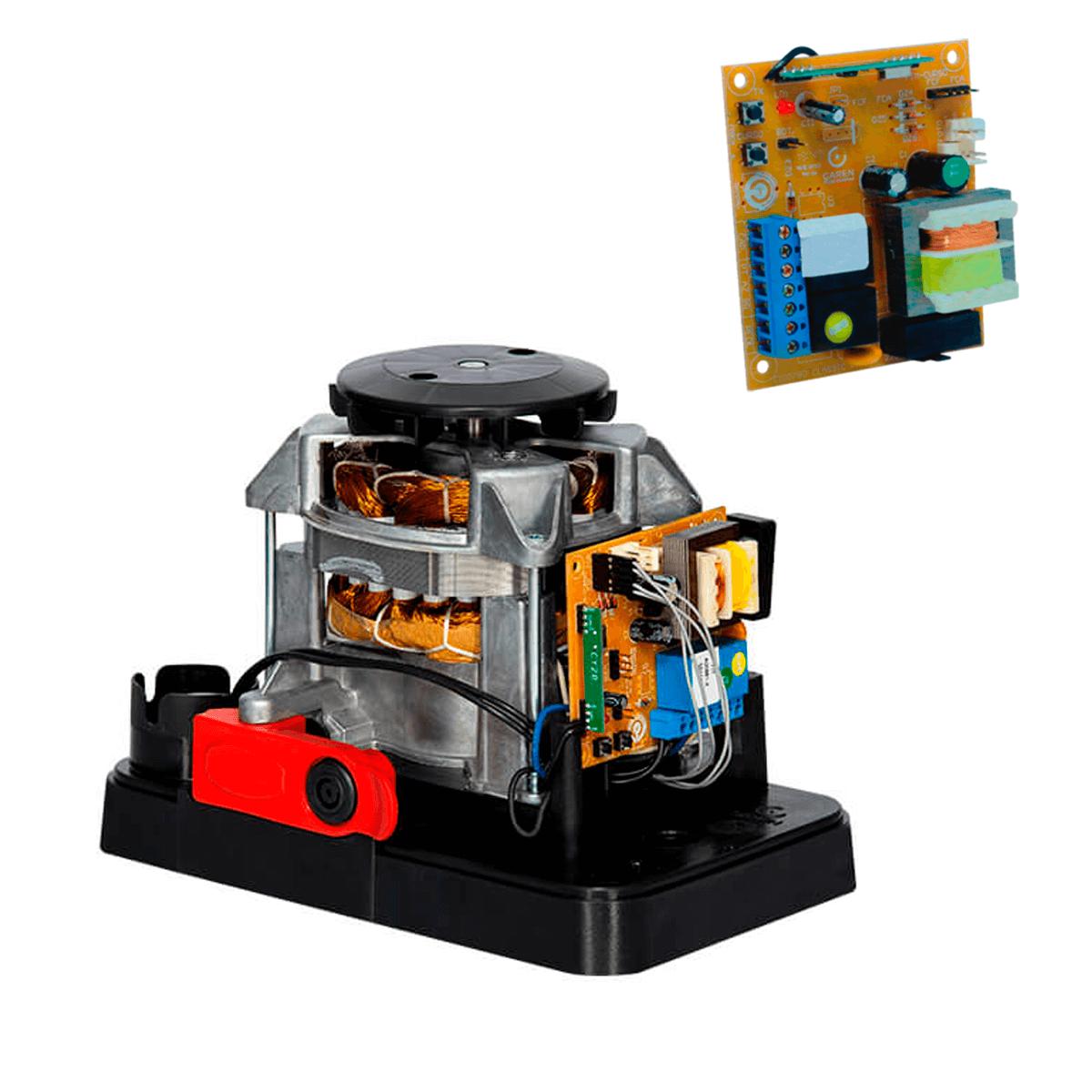 Kit Motor de Portão Garen Deslizante Dz Casa Light