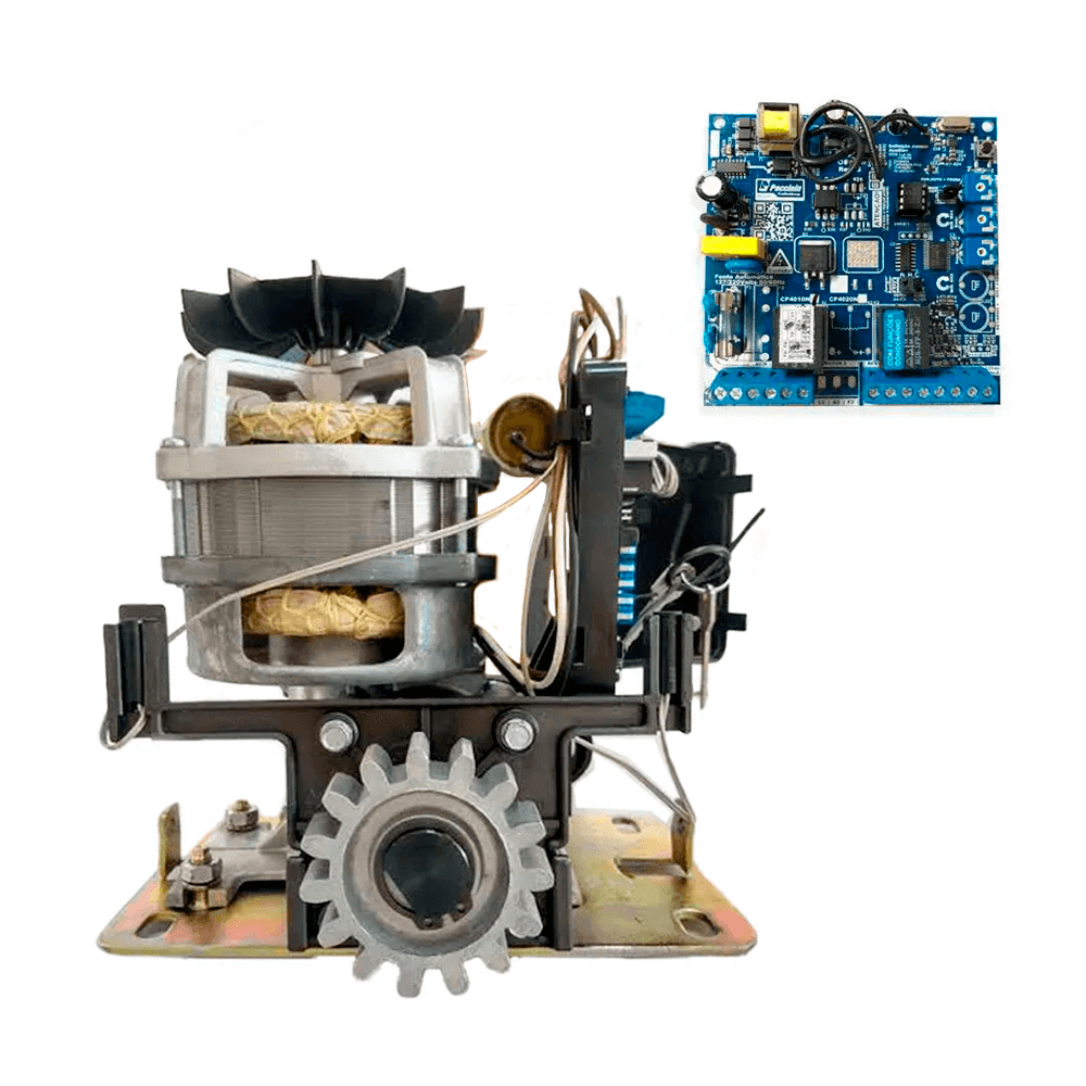Motor de Portão Eletrônico Deslizante Peccinin Light Std 1/3 CV
