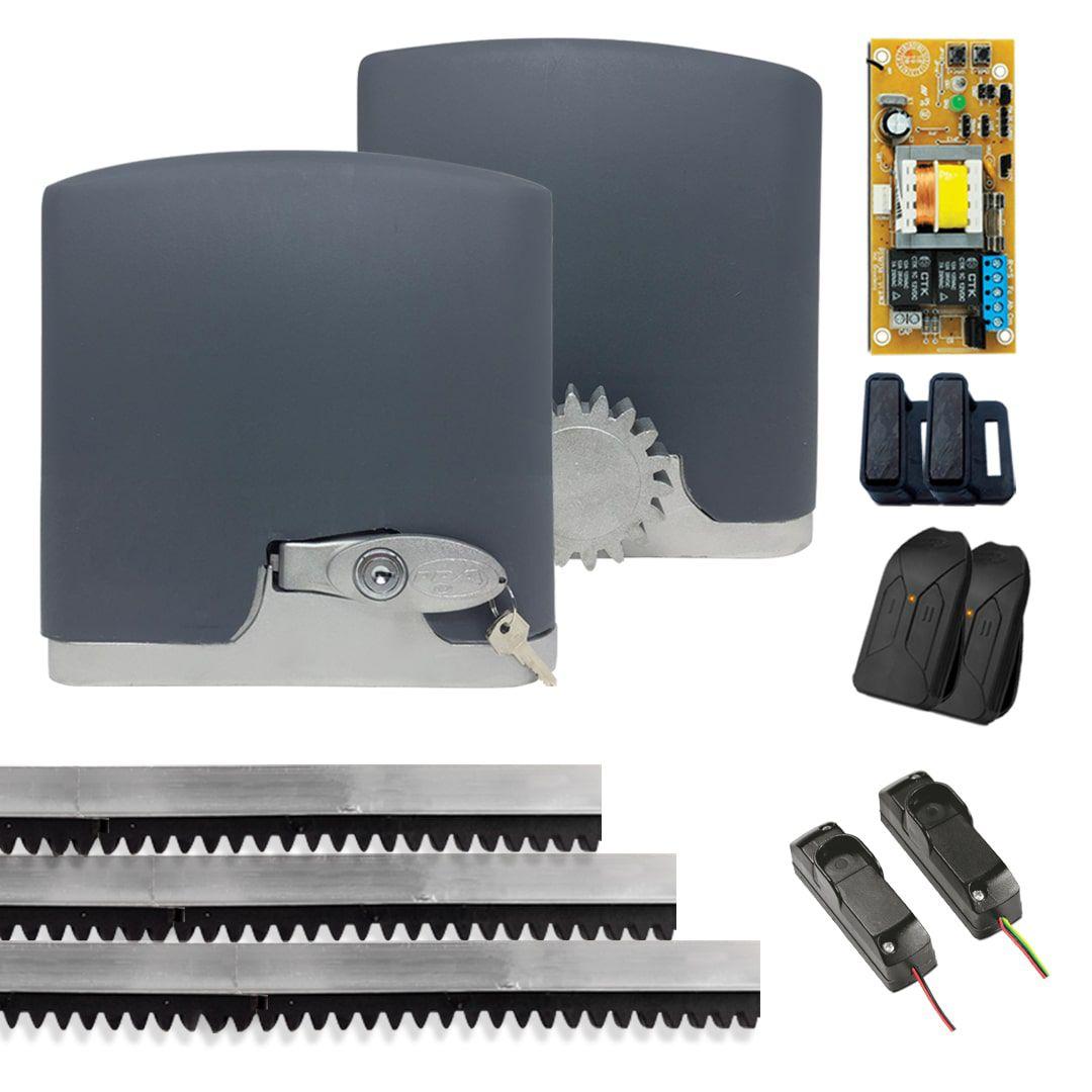 Kit Motor para Portão Automático PPA Dz R400 + Sensor Fotocélula
