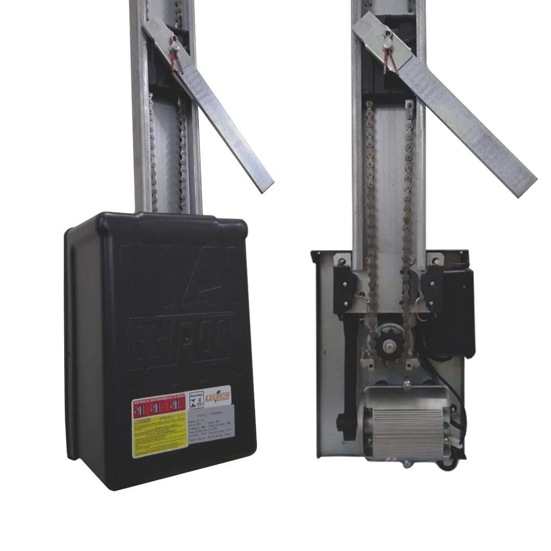 Kit Motor para Portão Basculante de Corrente Celtron 1/4 CV 1,35m