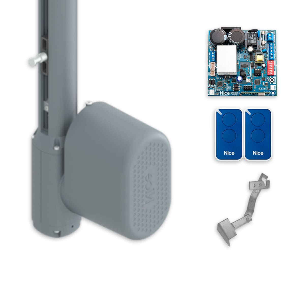 Kit Portão Eletrônico Basculante Peccinin Bravo I-HSC 1,75 Mts