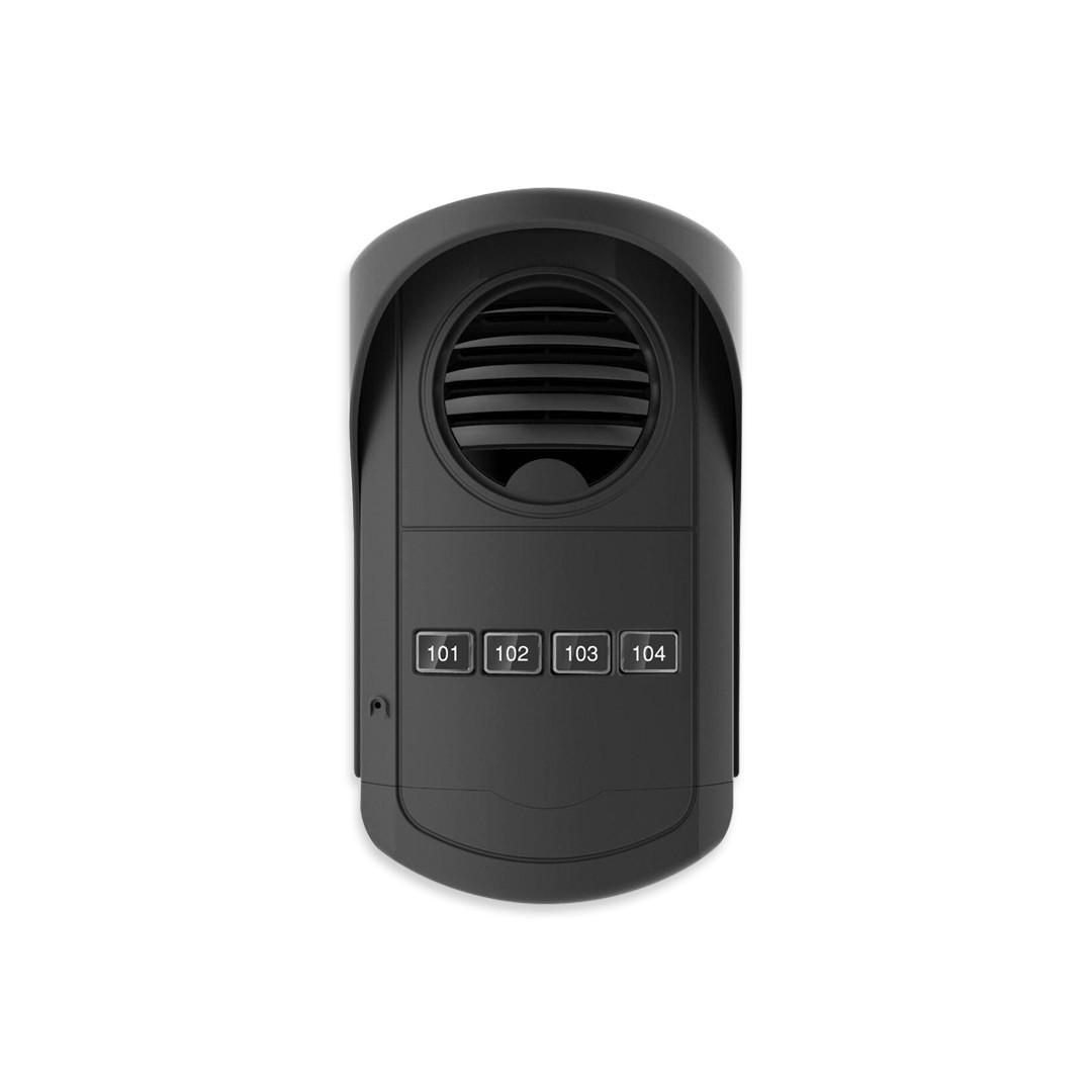 Kit Porteiro Eletrônico Coletivo AGL 4 S300 Com 4 Monofones