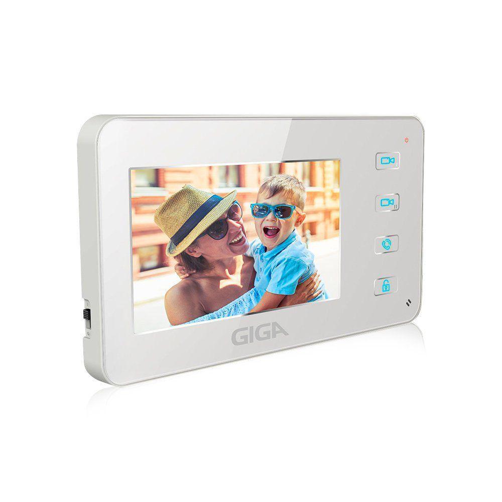 "Vídeo Porteiro Giga Security GSVDP4000 LCD 4.3"""