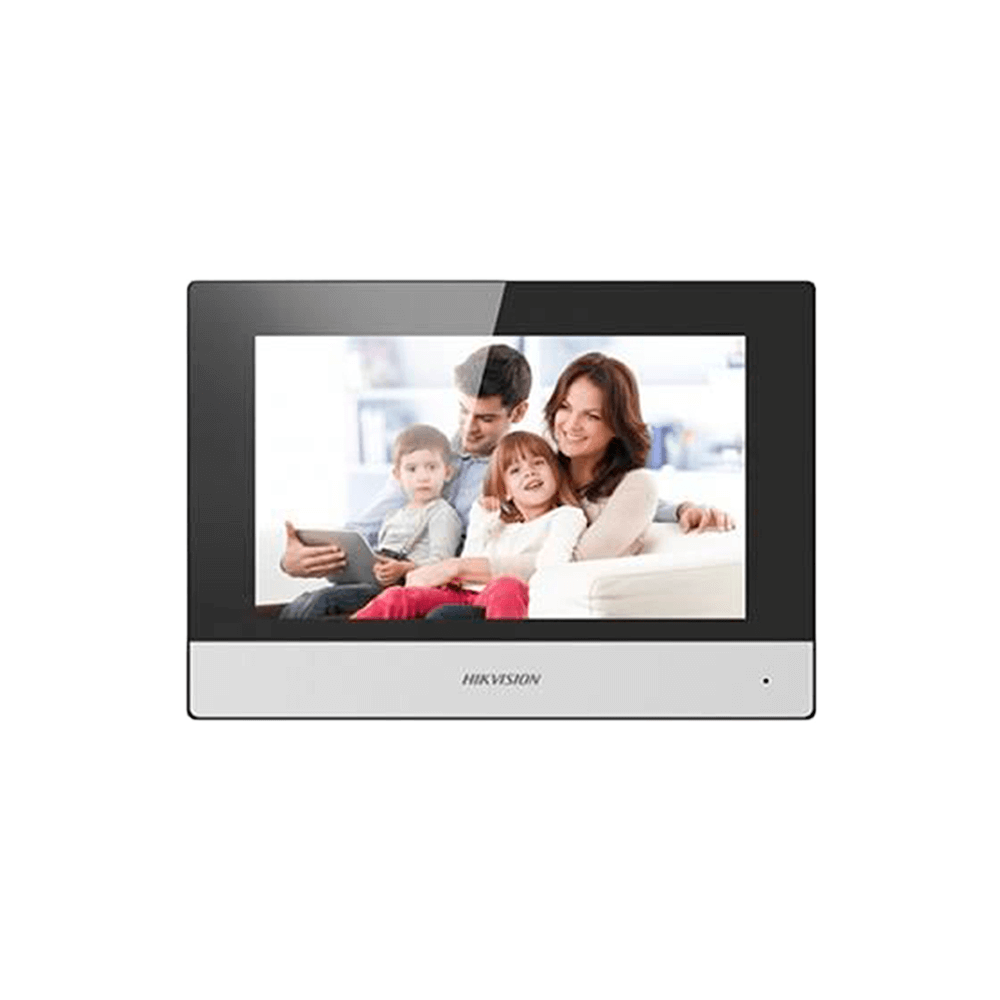 Kit Vídeo Porteiro Hikvision IP Sem Fio DS-KIS603-P