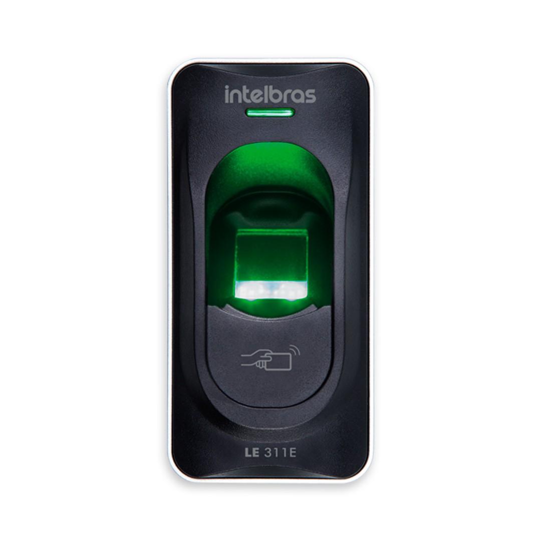 Leitor Biométrico Intelbras LE 311 E com RFID 125 kHz