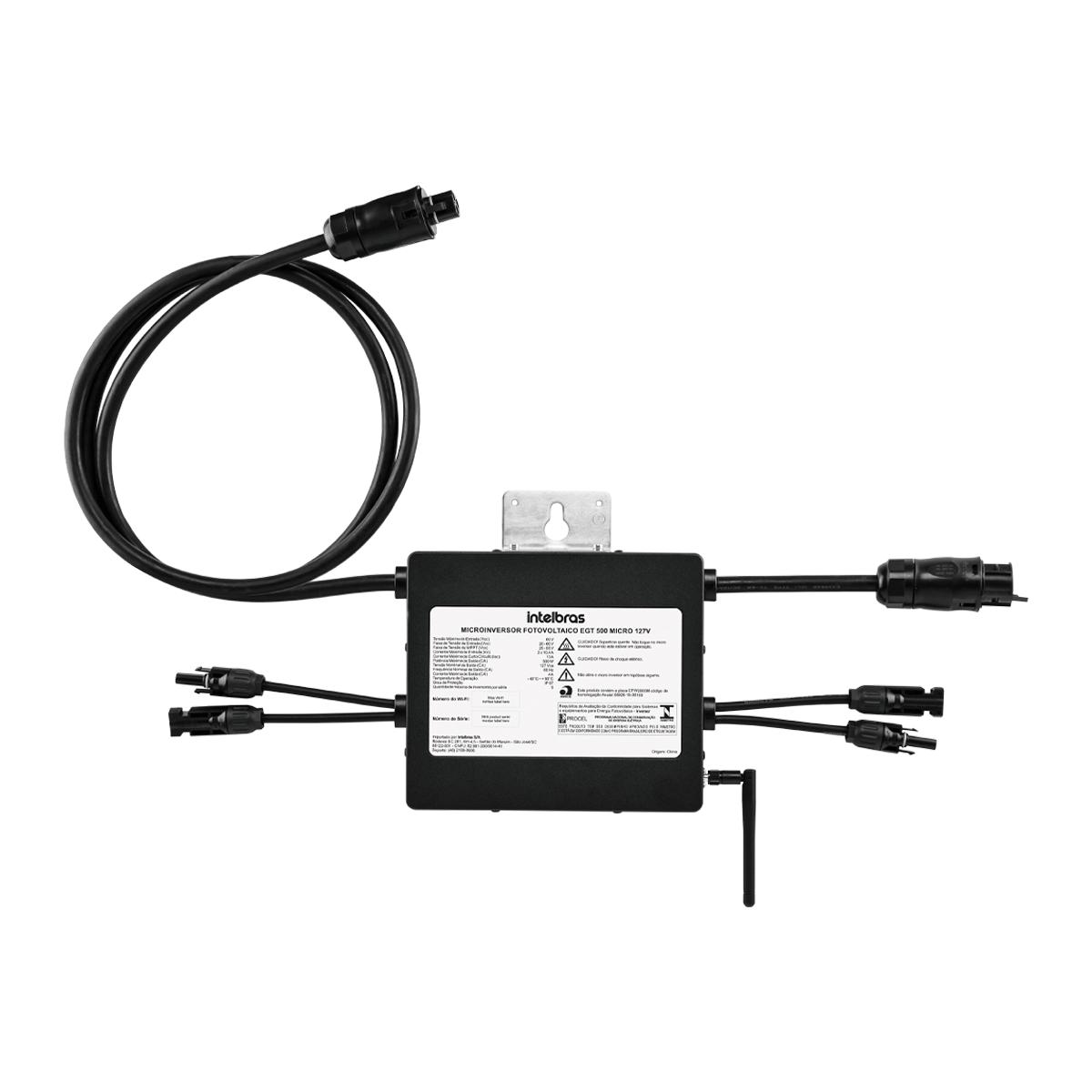 Microinversor Fotovoltaico Intelbras EGT 500 Micro 127V