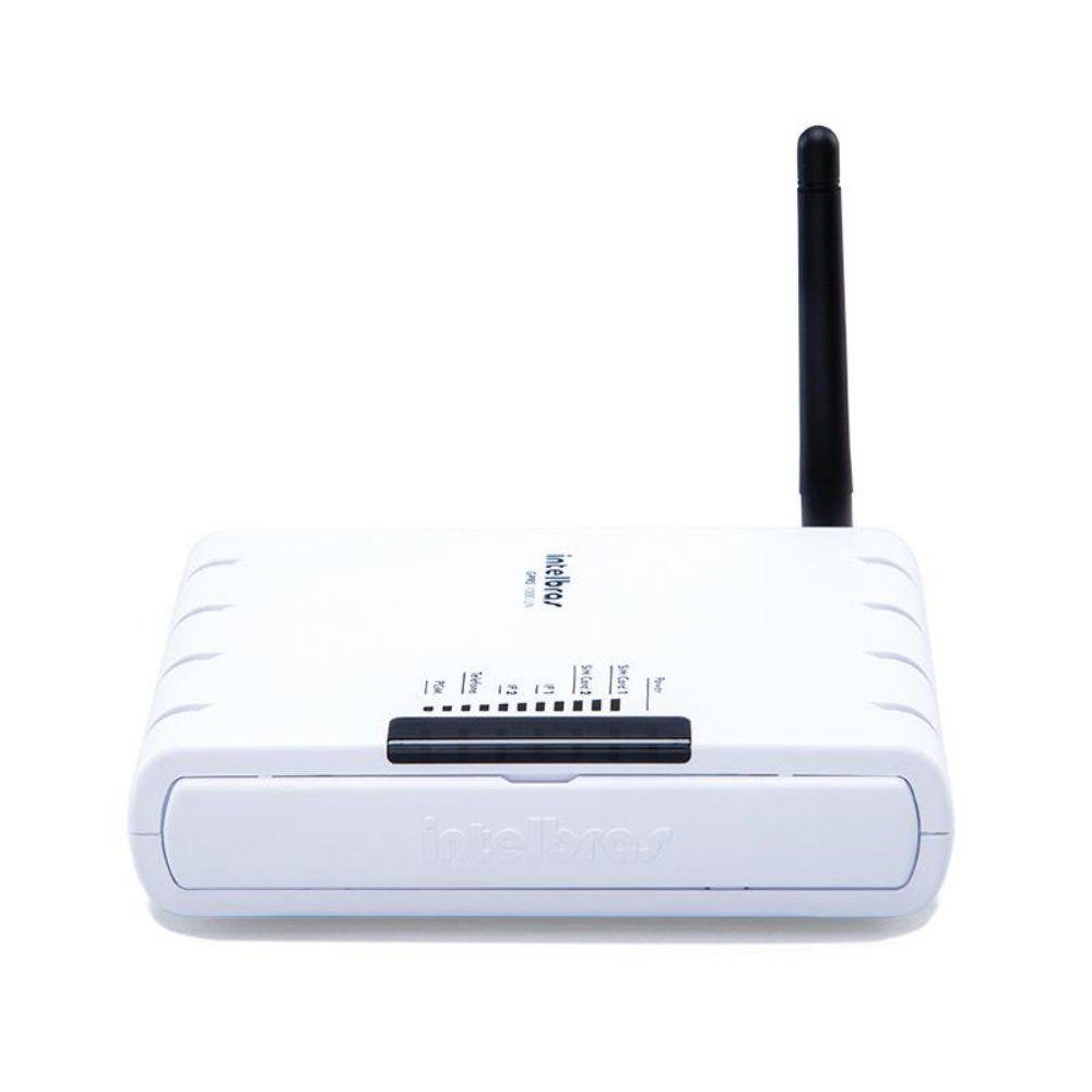 Módulo GPRS Universal Intelbras GPRS 1000 UN 2 SIM Cards