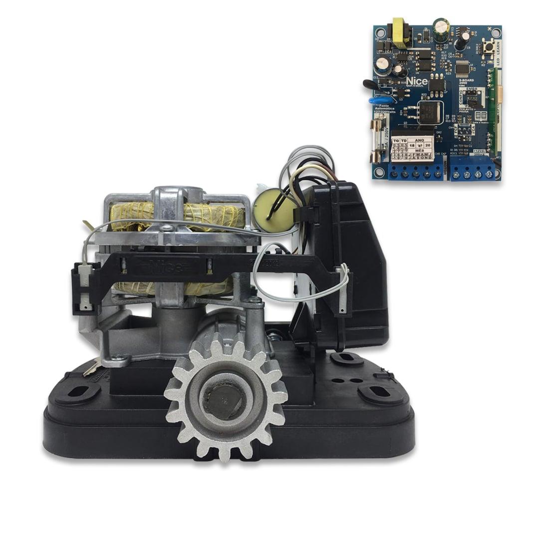 Motor de Portão Eletrônico de Correr Peccinin Fan 1/5 Hp Avulso