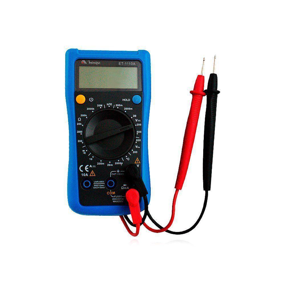 Multímetro Digital ET-1110A MINIPA