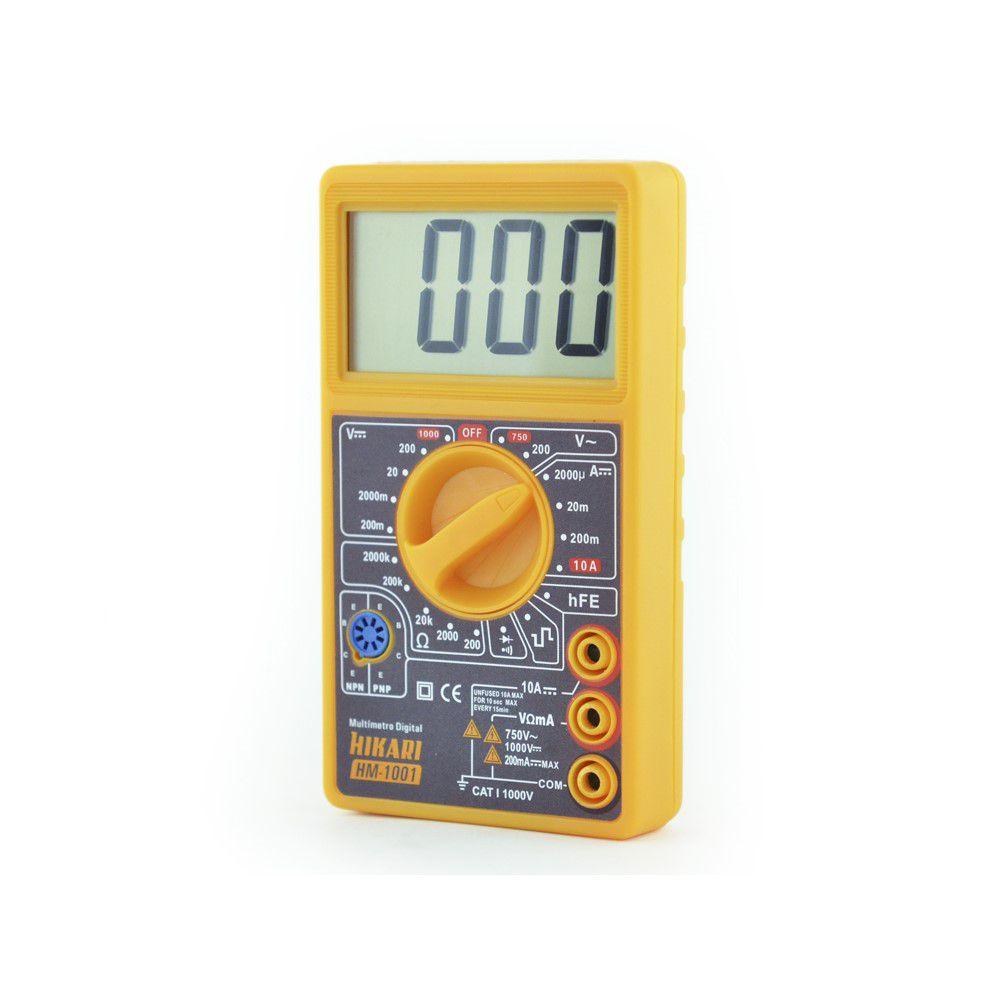 Multímetro Digital Hikari HM 1001