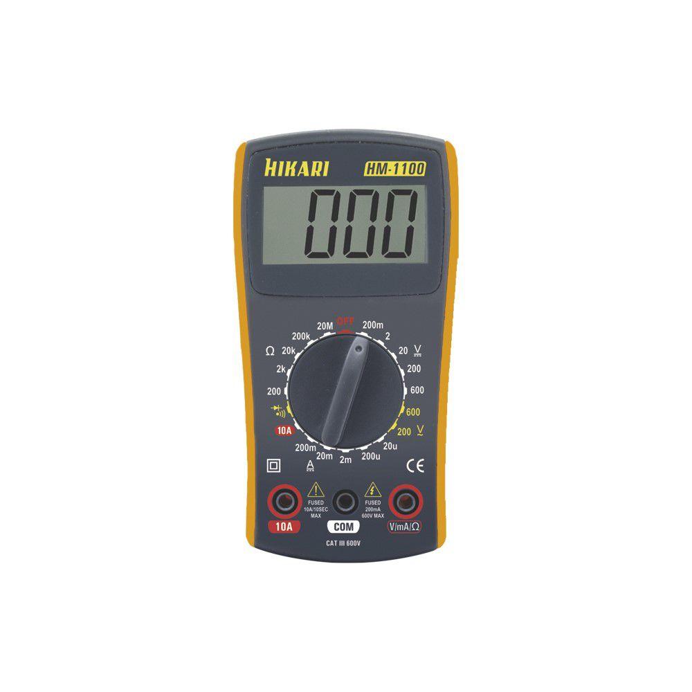 Multímetro Digital Hikari Ferramentas HM 1100