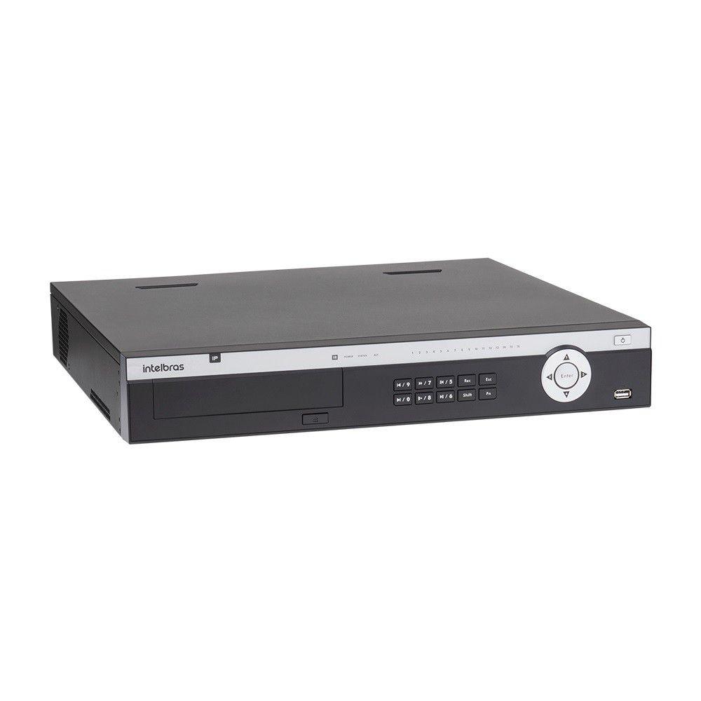 NVR Gravador de Vídeo IP Intelbras NVD 5124 FullHD 24 Canais