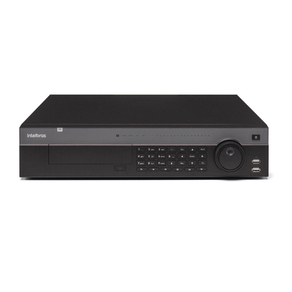 NVR Gravador de Vídeo IP Intelbras NVD 7132 4K 32 Canais