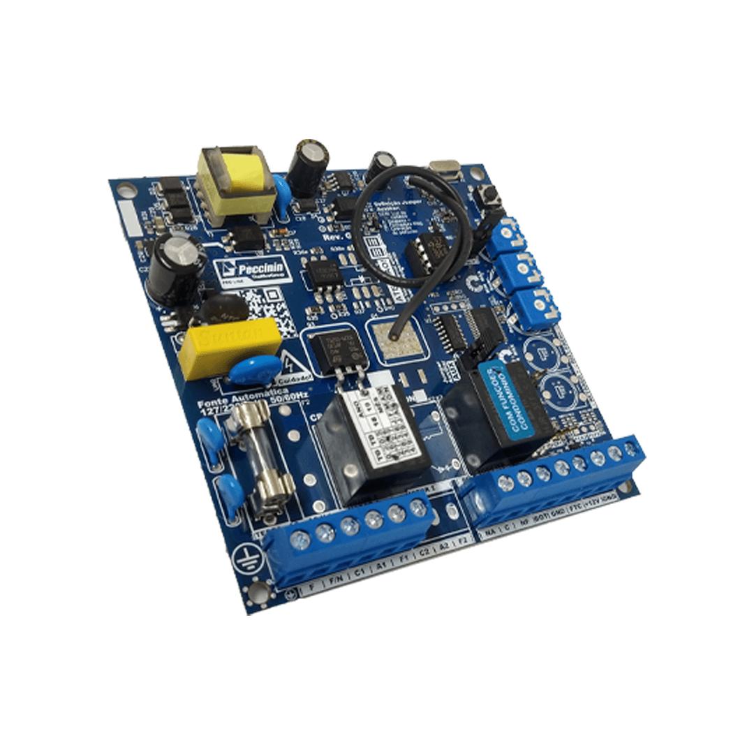 Placa Central para Motor de Portão Eletrônico Peccinin CP 4010 F