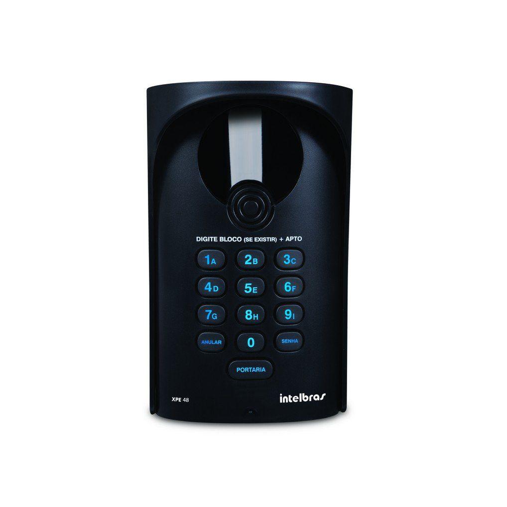 Porteiro Eletrônico Intelbras XPE 48 Dedicado Comunic 16/48