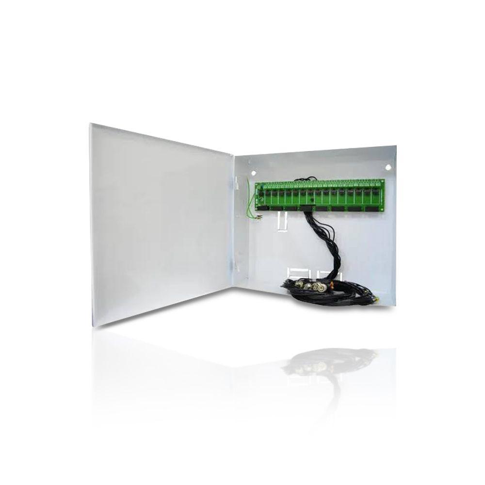 Rack Organizador Max Eletron Parede 16 Canais HD Híbrido