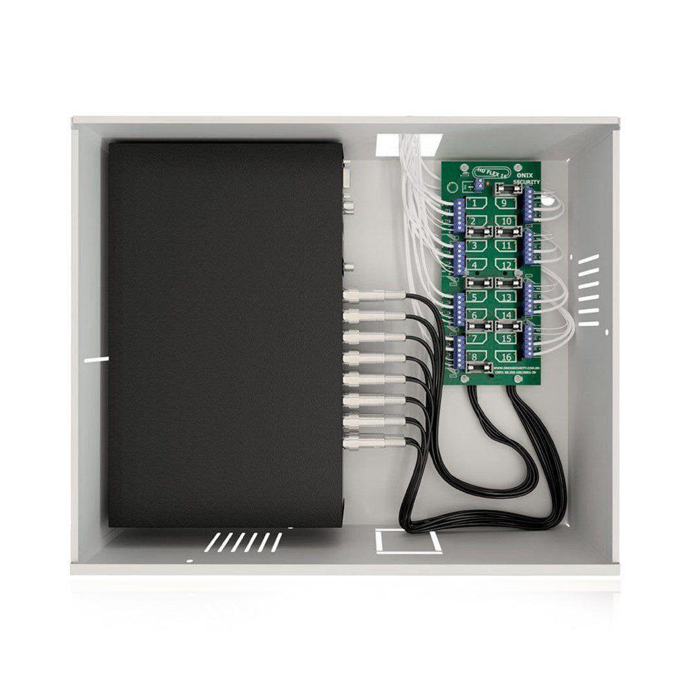 Rack Organizador para CFTV Onix Mini Orion HD 3000 8 Canais
