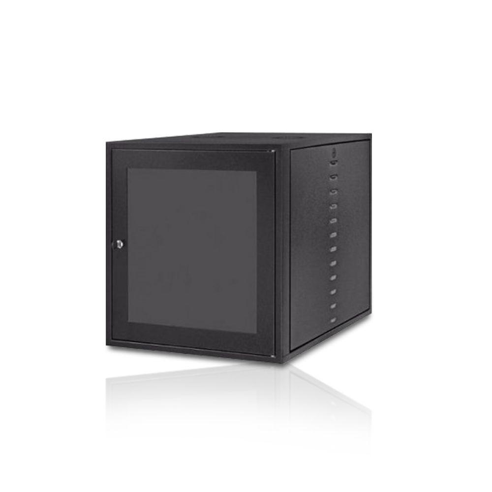 "Rack Parede Max Eletron 19"" 9U x 470 Porta Acrílico"