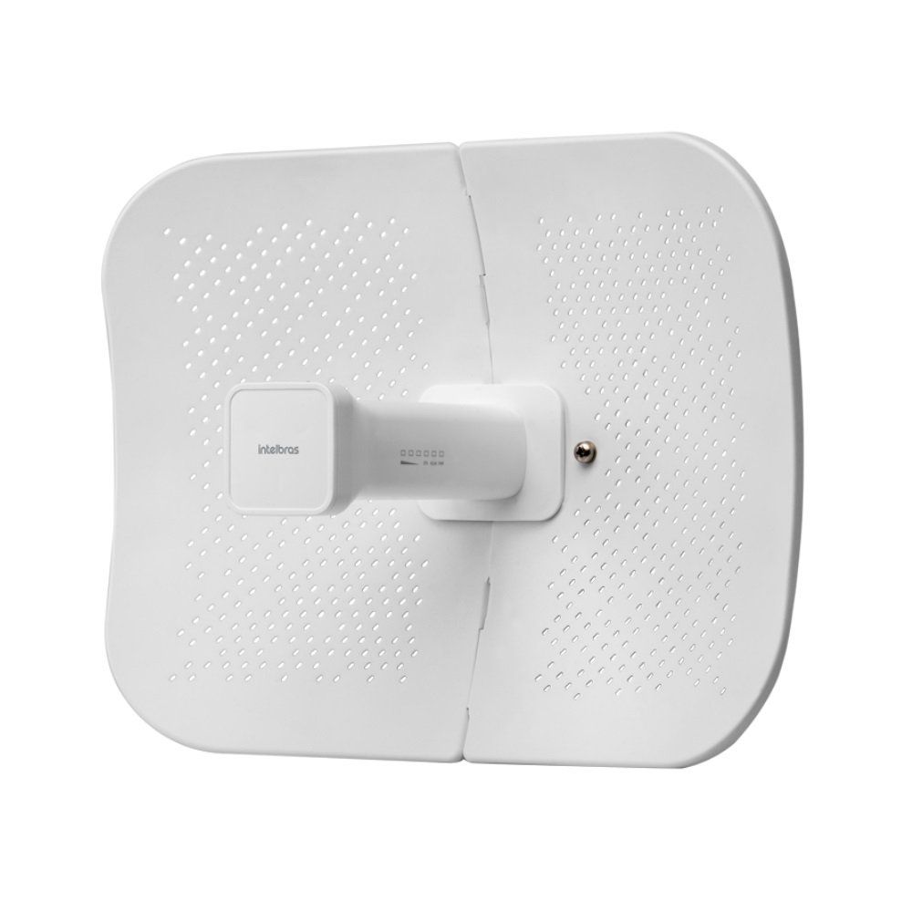 Roteador CPE/PTP Intelbras WOM 5A-23 Antena Dish 23 dBi MiMo 2x2