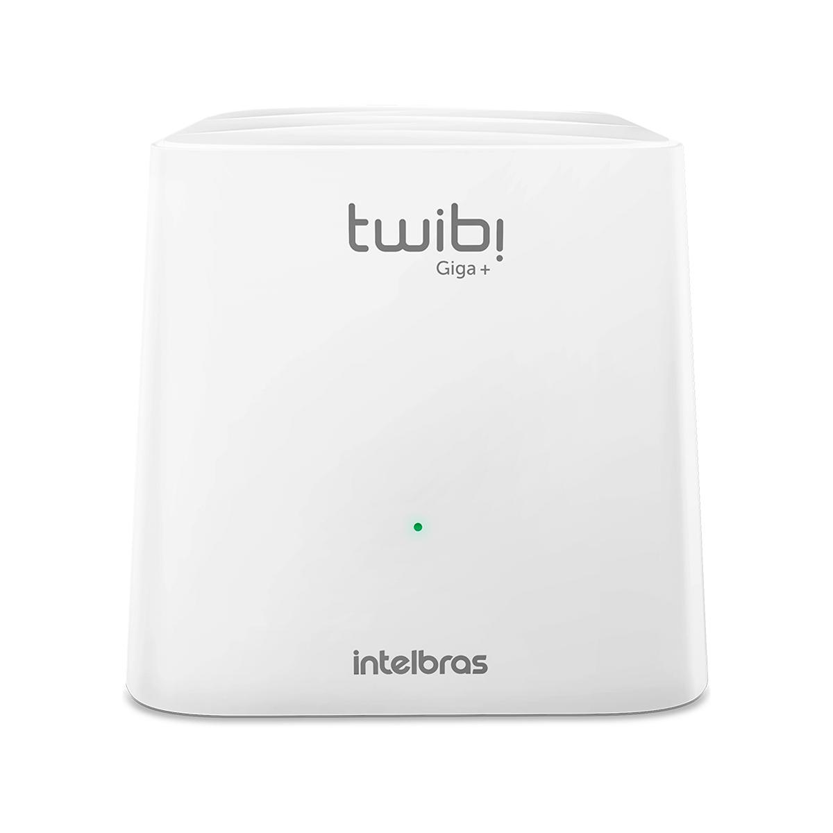Roteador Wi-Fi 5 Mesh Intelbras Twibi Giga+ AC 1200