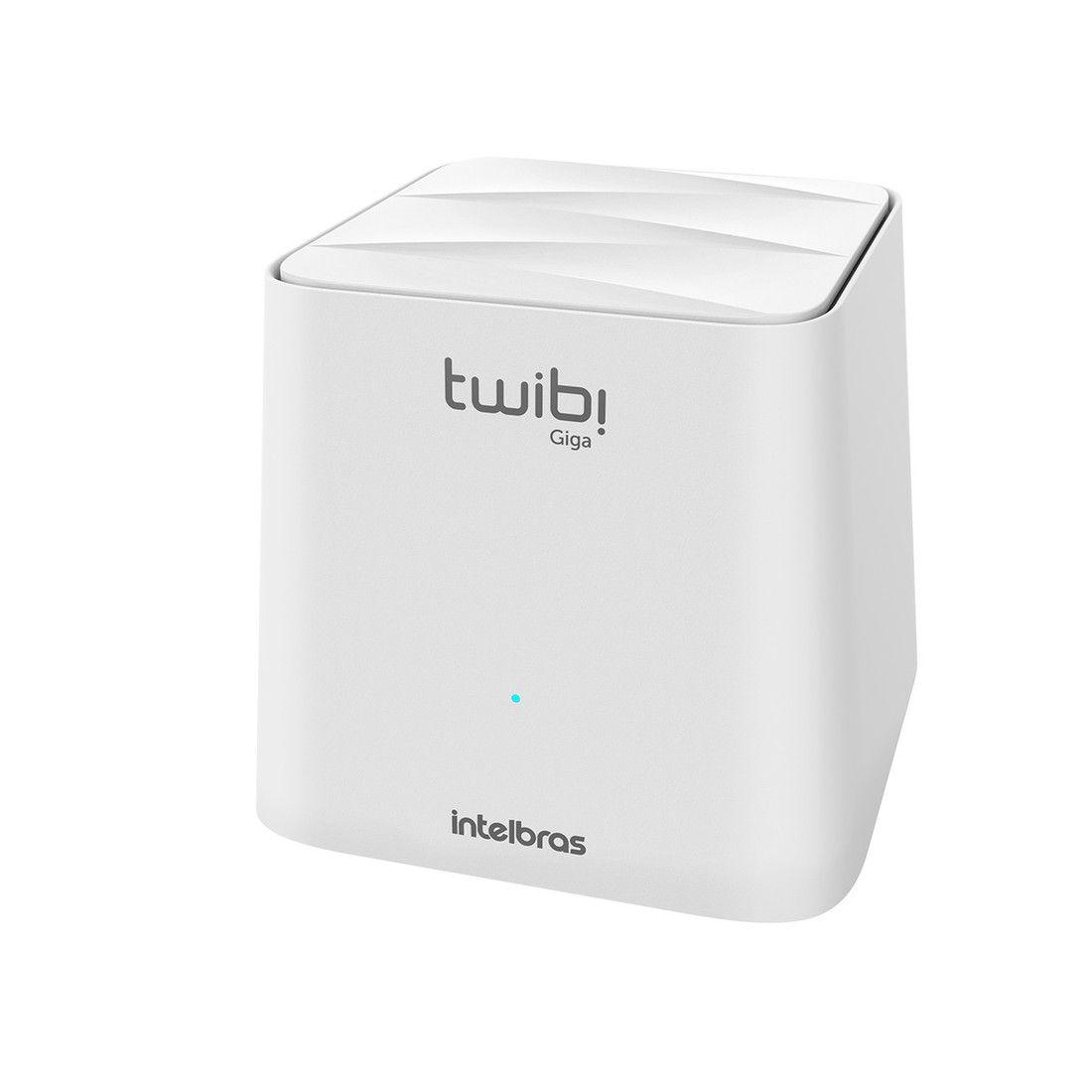 Roteador Wi Fi Twibi Intelbras Mesh Giga 1 Módulo