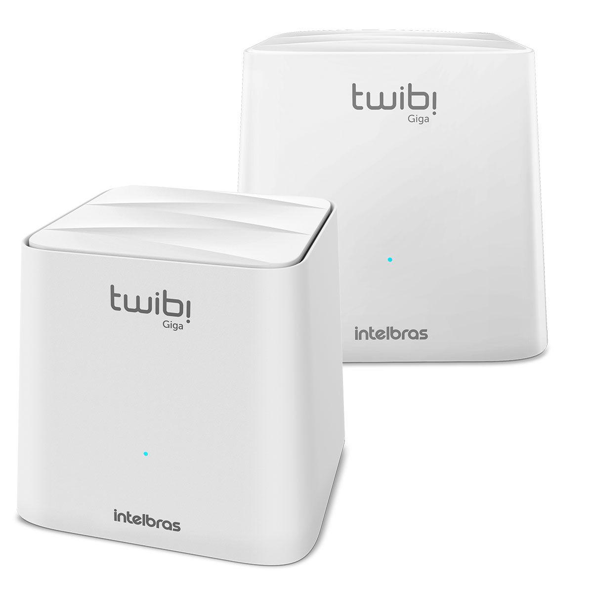 Roteador Wi Fi Intelbras Twibi Giga Mesh 2 Módulos