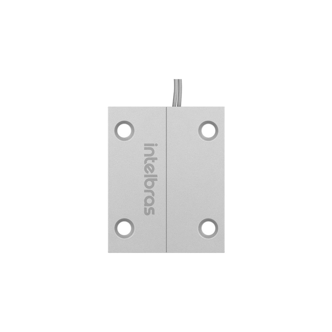 Sensor de Abertura Magnético Com Fio Intelbras XAS Porta de Aço Mini