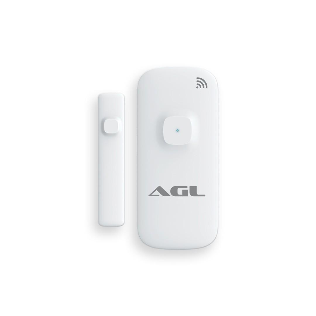 Sensor de Porta e Janela Inteligente WiFi AGL por Aplicativo