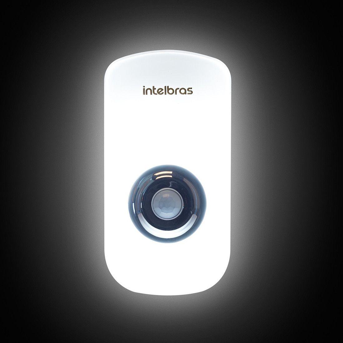 Sensor de Presença Intelbras com Iluminação LED ESI 5001