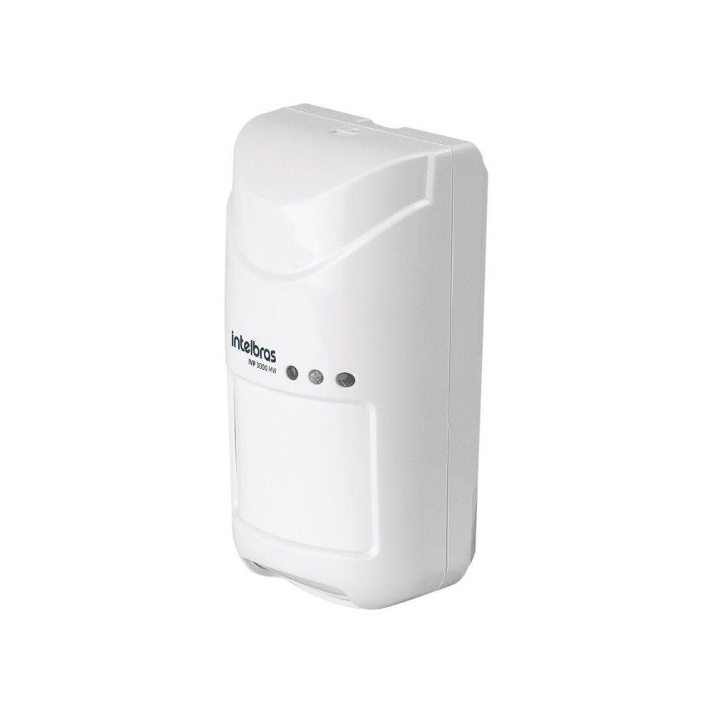 Sensor Infravermelho Passivo Intelbras IVP 3000 MW Com Fio Interno