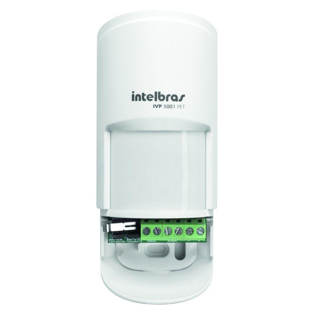 Sensor Infravermelho Passivo Intelbras IVP 5001 PET