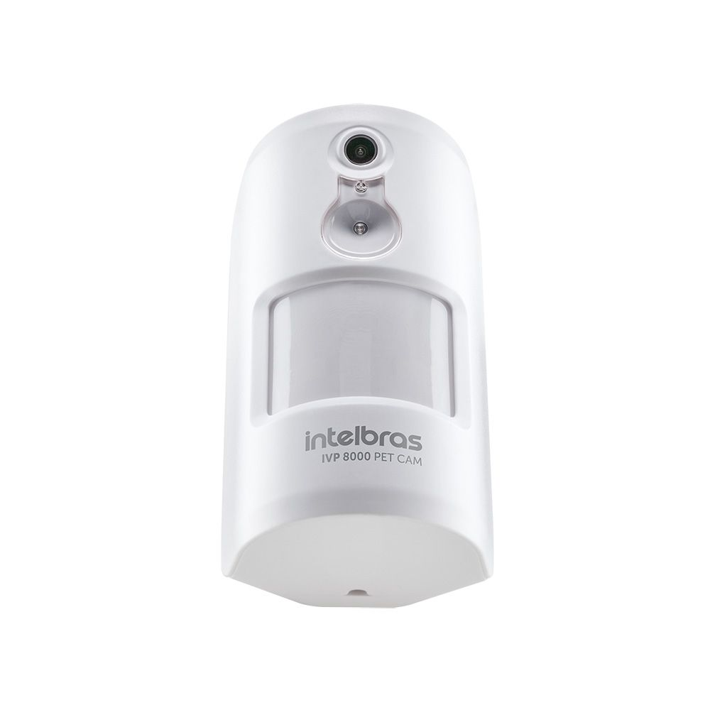 Sensor de Movimento IVP 8000 Pet CAM Intelbras