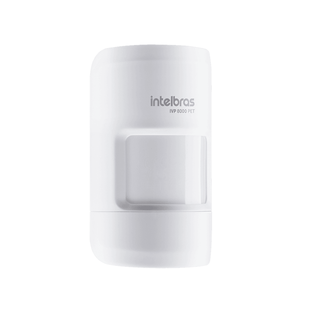 Sensor de Movimento IVP 8000 Pet Intelbras Sem Fio
