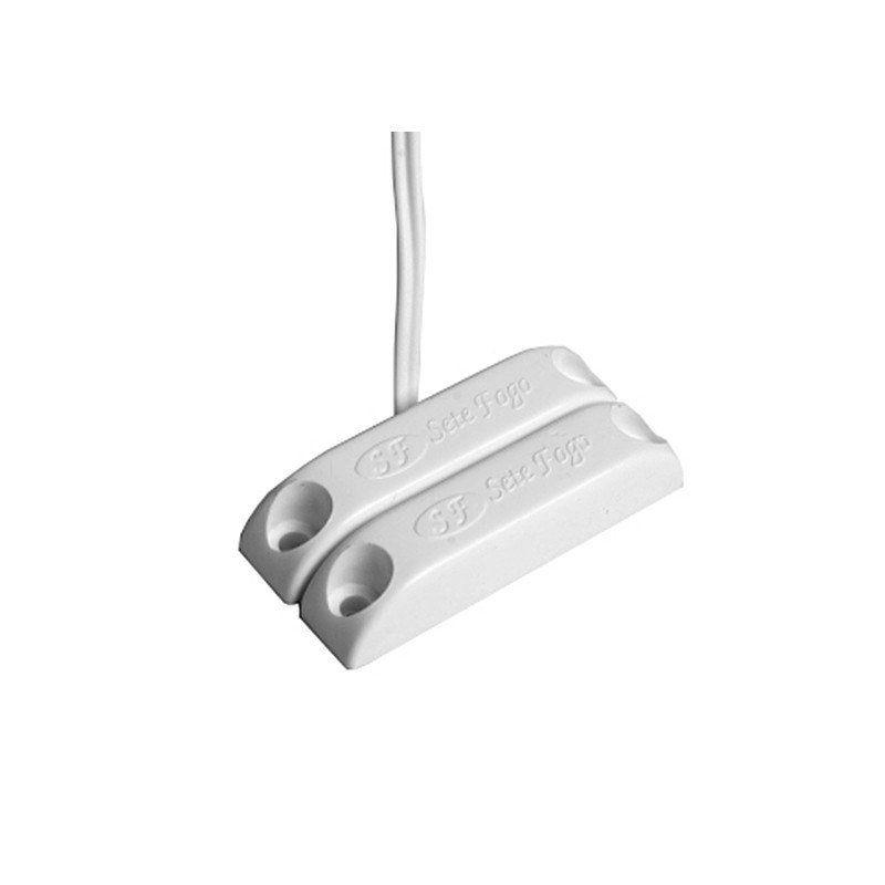 Sensor Magnético com fio de Sobrepor com Adesivo 9020
