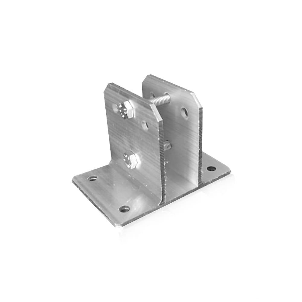 Suporte para Big Haste em Alumínio Articulável 25 x 25 mm