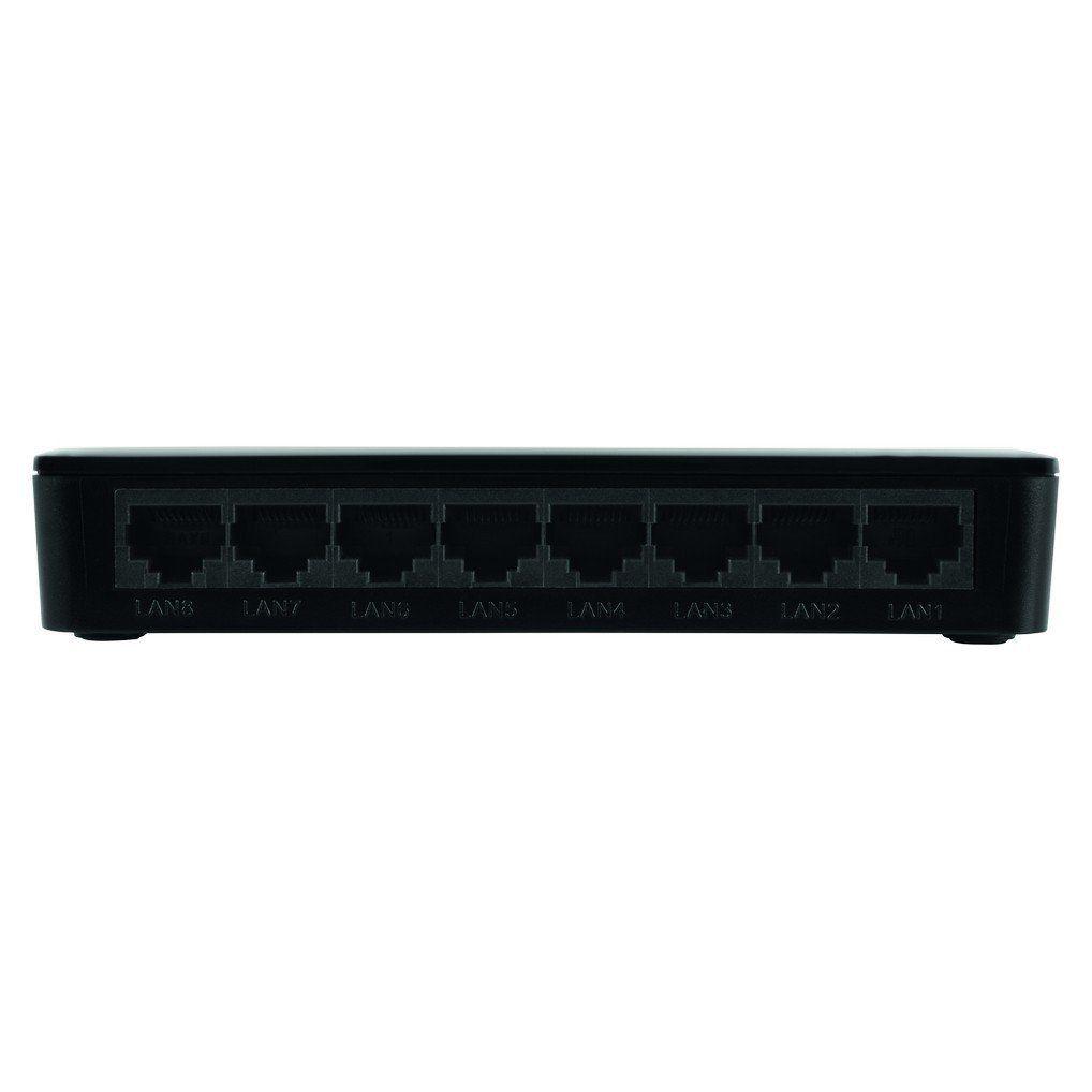 Switch 8 portas Fast Ethernet Intelbras SF 800 Q+
