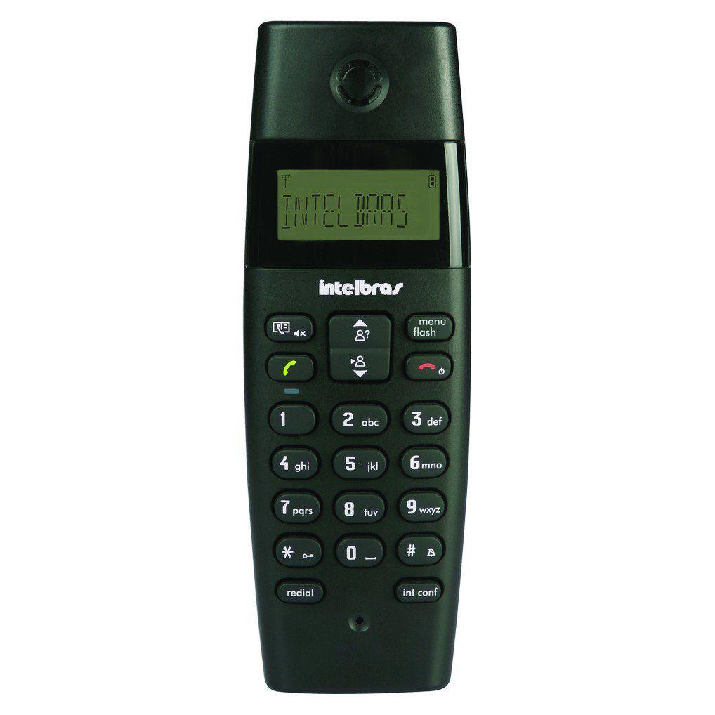 Telefone Sem Fio Intelbras TS 40 ID Identificação de Chamada