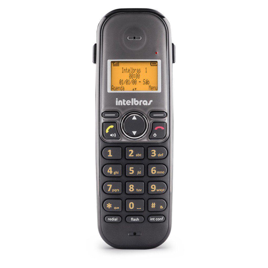 Telefone Sem Fio Intelbras TS 5150 com Entrada para 2 Linhas