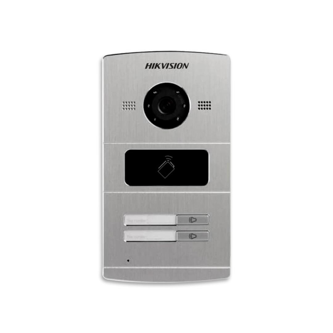 Vídeo Porteiro Hikvision IP 2 Teclas Câmera Com 1,3MP